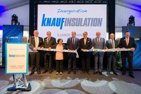 Opening Ceremony, Knauf Insulation plant, Illange, France
